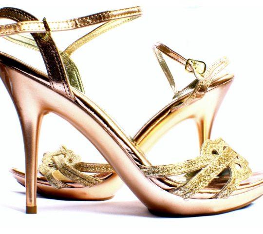 Zlaté boty jako pro princeznu
