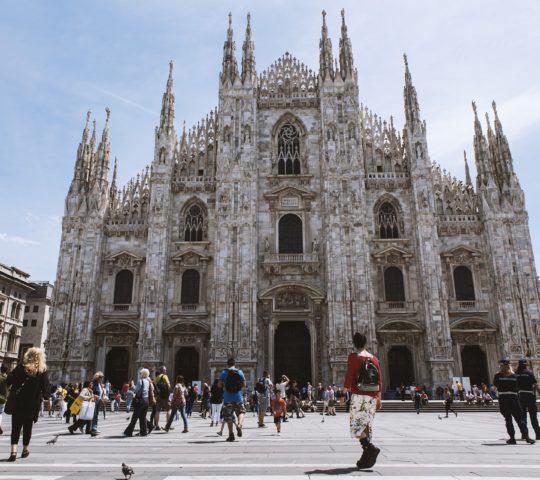 Kouzelné město milán