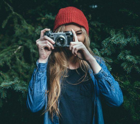 Selfie a focení jídla je trendem této doby.