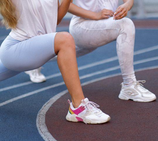 Sport jako prevence otoku nohou.