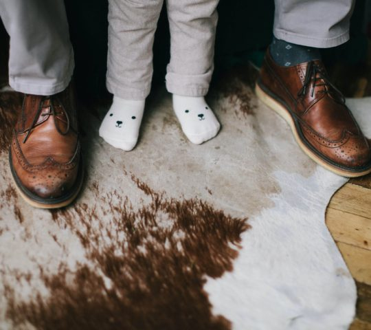 Napínák na kožené boty.