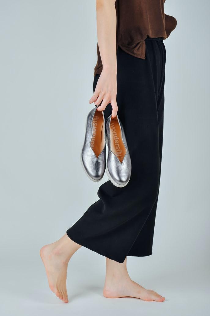 Trend barefoot.